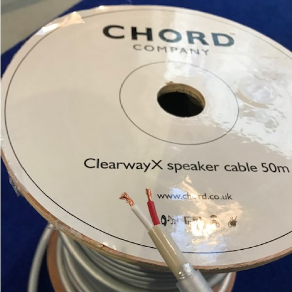 clearway speaker cable 50m auditorium nantes